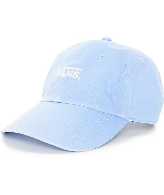 Vans Court Blue Bell Baseball Hat ... 09fcda796da