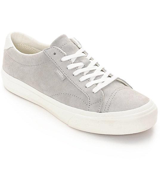b26eb3d0d8 Vans Court DX Cool Grey   White Womens Shoes