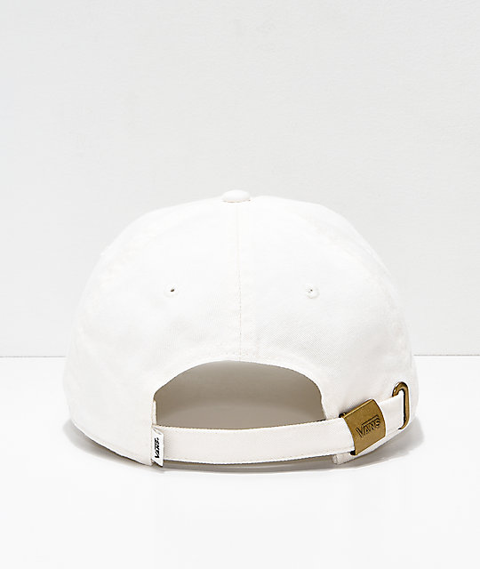 Vans Courtside Cream Strapback Hat