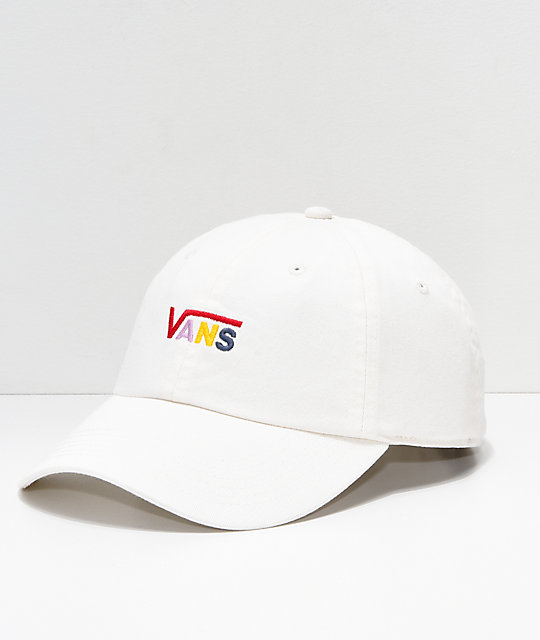 a7d72f8c Vans Courtside Cream Strapback Hat