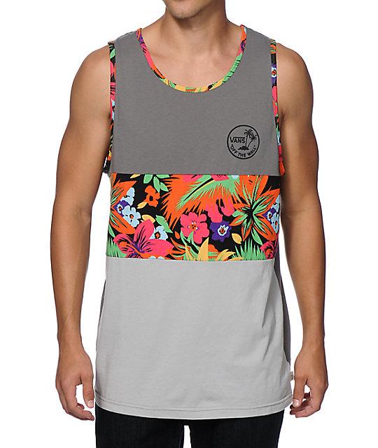 6fe0fa07950c3b Vans Crescent Cove Floral Tank Top