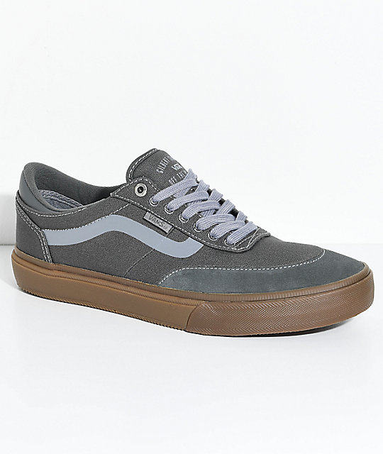 Vans Crockett 2 Gunmetal & Gum Skate Shoes