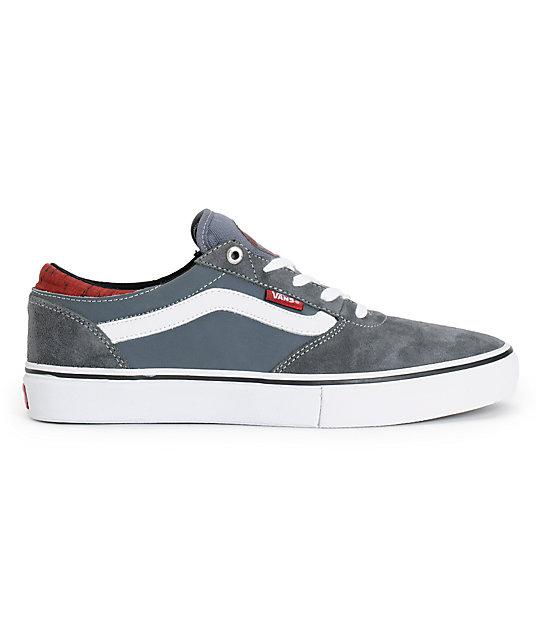 eaea180e61 ... Vans Crockett Pro Cork Dark Grey Skate Shoes