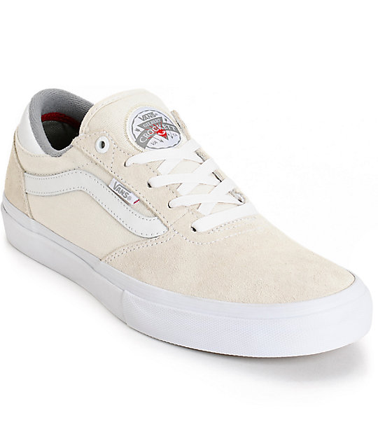 vans gilbert crockett beige