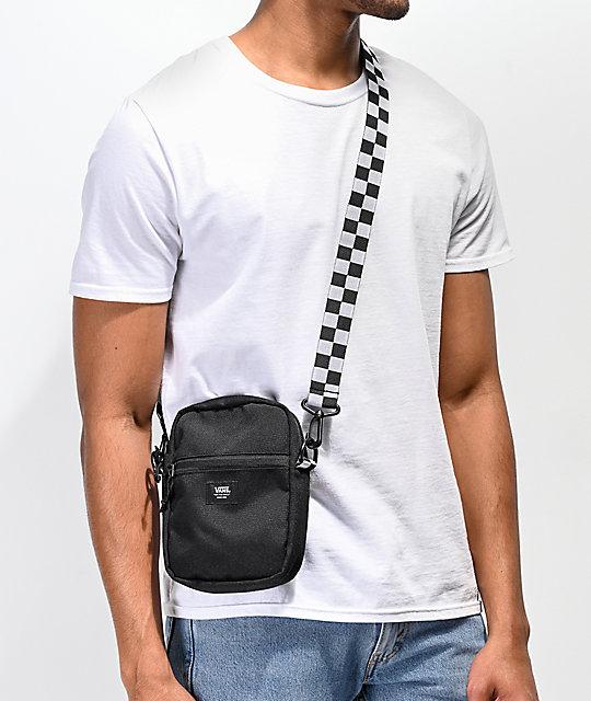 204ed6d1ec1 Vans Crossbody Black Shoulder Bag  Vans Crossbody Black Shoulder Bag ...
