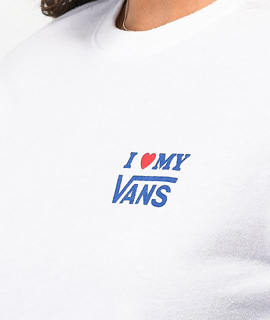 Vans DNA White Long Sleeve T-Shirt