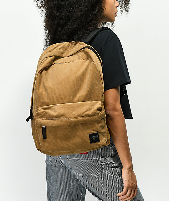 Vans Deana III Dirt Corduroy Backpack