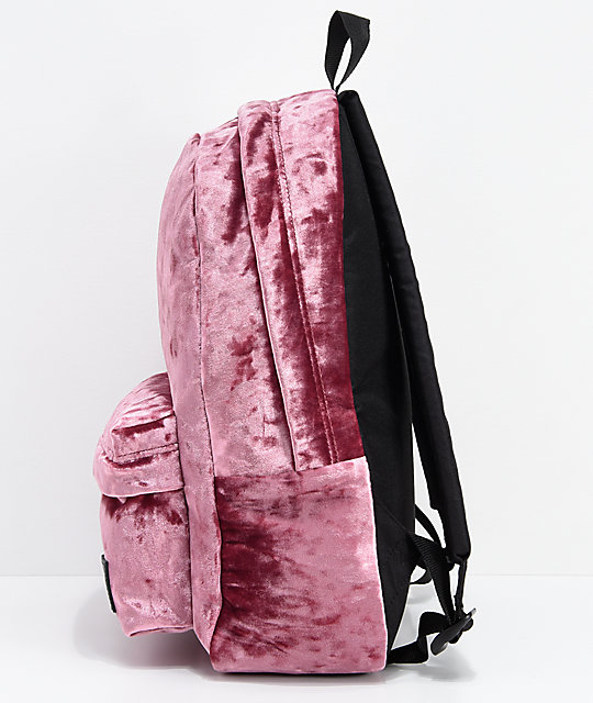 128f1216ac80 ... Vans Deana III Dry Rose Velvet 22L Backpack ...