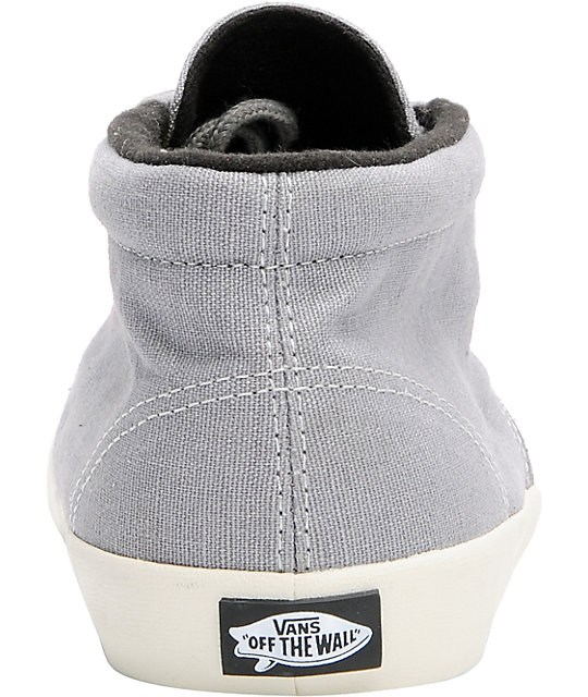 Vans Del Norte Grey & Turtledove Skate Shoes