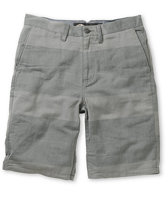 Vans Dewitt Marco Charcoal Stripe Chino Shorts