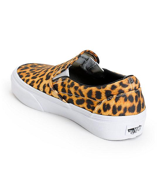 170e60b8b0 ... Vans Digi Leopard Slip On Shoes ...