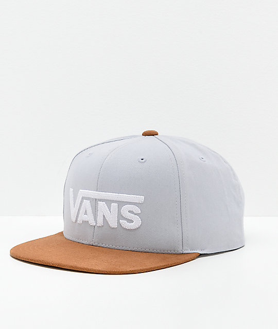 9014fcf18f7a3 Vans Drop V II Heather Snapback Hat