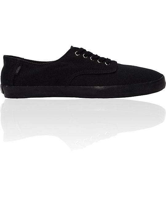 Vans E Street All Black Skate Shoes
