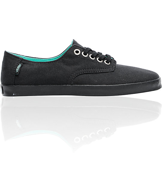 Vans E Street Black & Black Shoes