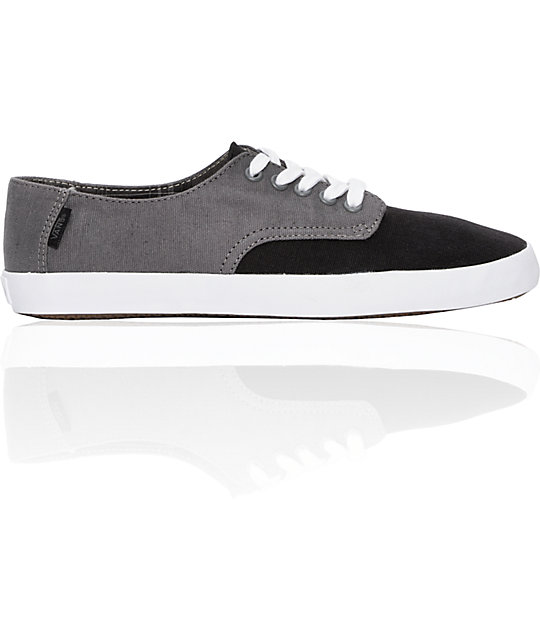 Vans E Street Black & Pewter Skate Shoes
