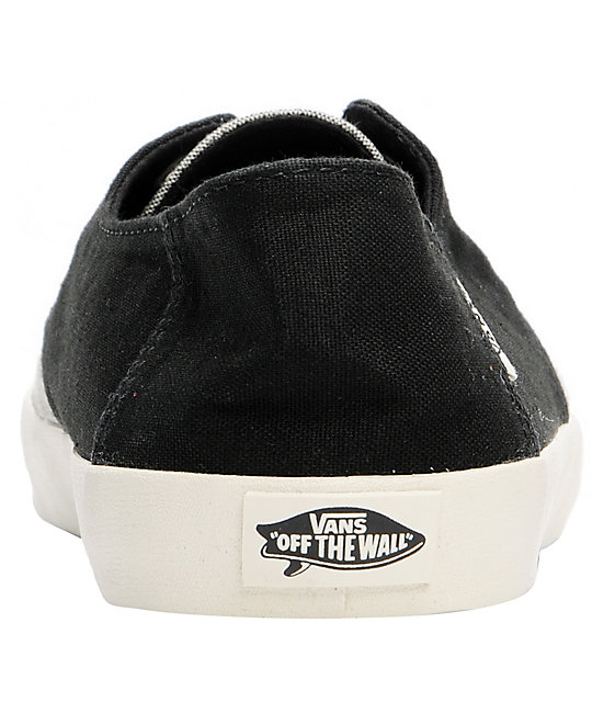 Vans E-Street Turtledove & Black Skate Shoes