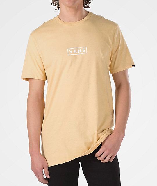 6b4ddf23ec5 Vans Easy Box New Wheat T-Shirt