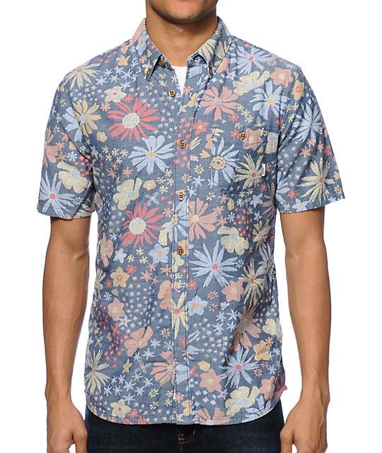 vans flower shirt