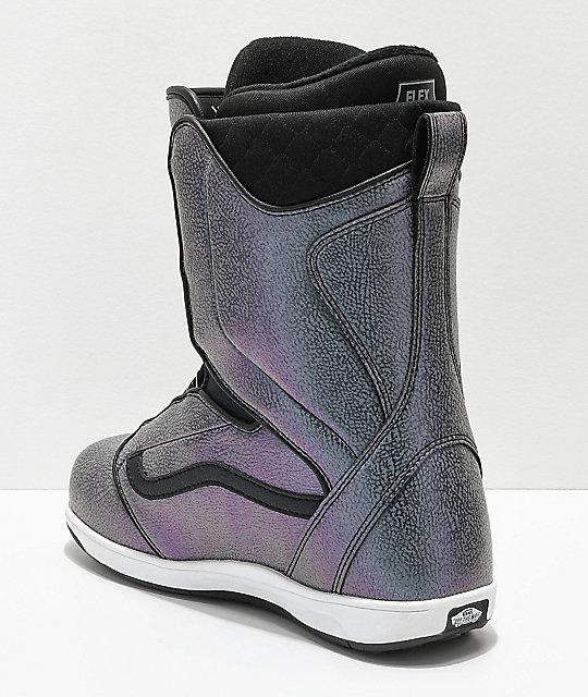 aa3b25e081 ... Vans Encore Boa botas de snowboard iridiscentes para mujeres ...