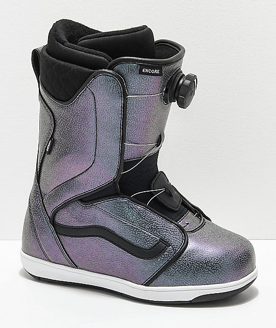 461fe331aa Vans Encore Boa botas de snowboard iridiscentes para mujeres ...