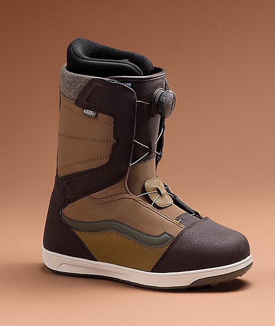 55a647f8ce ... Vans Encore Boa botas de snowboard marrones