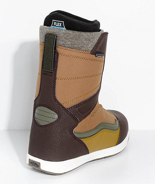910fab2f0f ... Vans Encore Boa botas de snowboard marrones ...