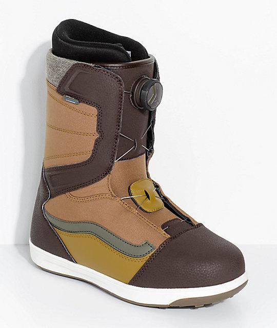 6c535b0748 Vans Encore Boa botas de snowboard marrones ...