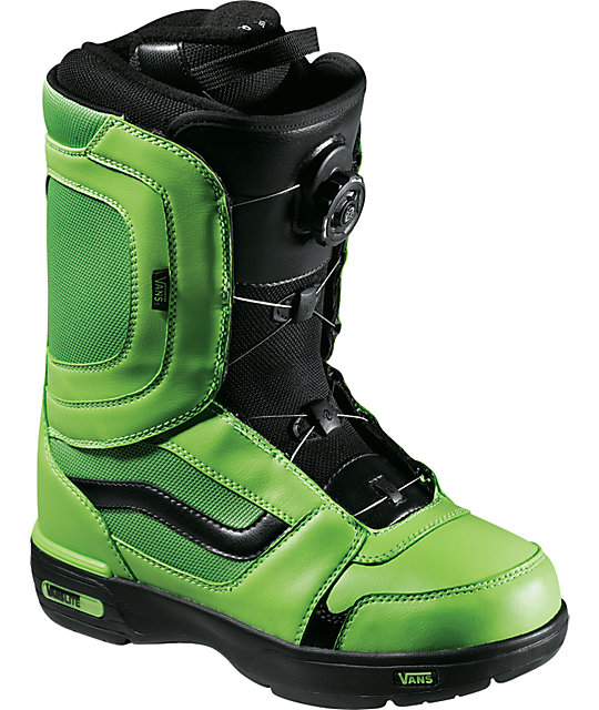 Vans Encore Green & Black Mens Snowboard Boots