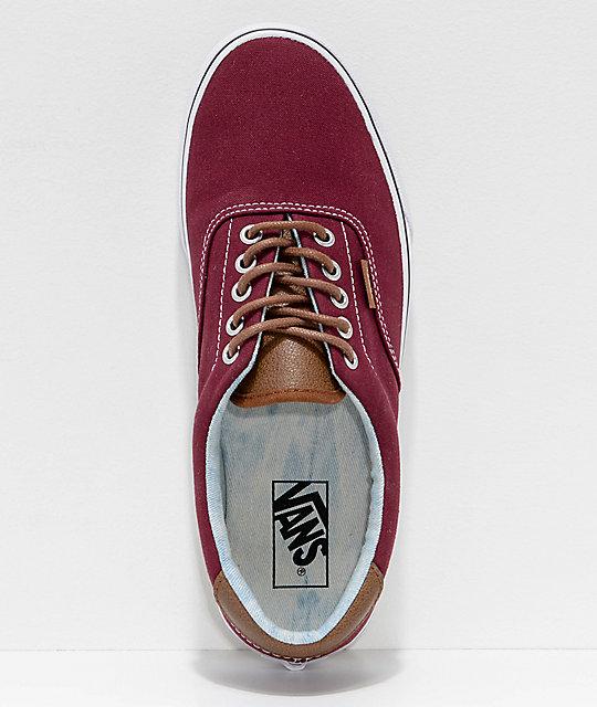 18d795b11c ... Vans Era 59 CL Port Royale   Blue Washed Skate Shoes ...