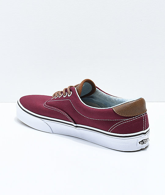 7668c1867c ... Vans Era 59 CL Port Royale   Blue Washed Skate Shoes ...