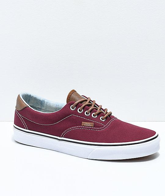Vans Era 59 CL Port Royale zapatos de skate con lavado azul