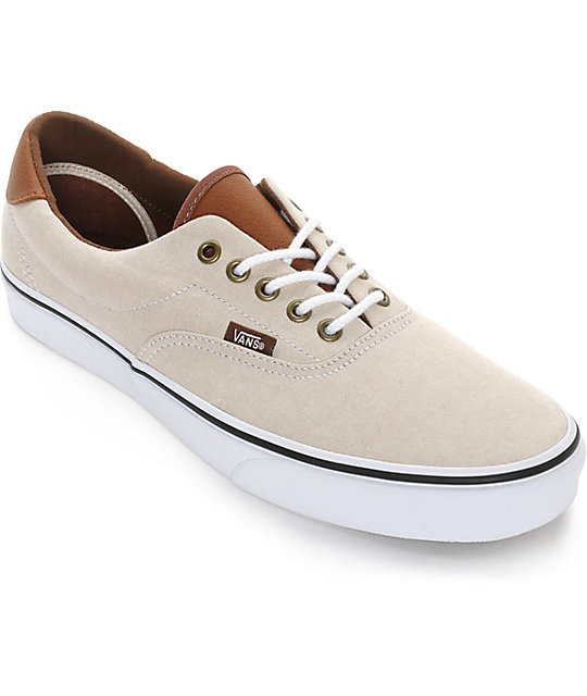beige vans shoes
