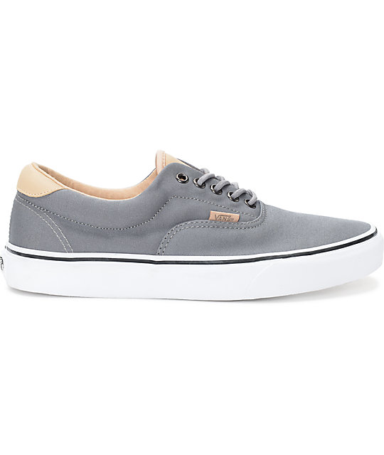 Vans Era 59 Veggie Tan & Grey Skate Shoes