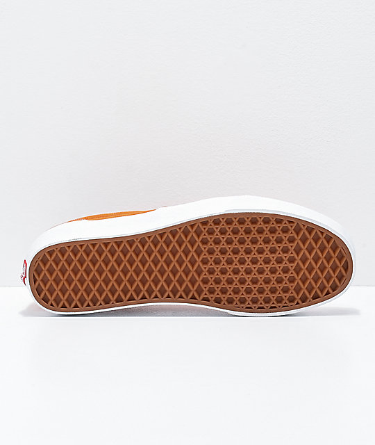 Vans Era Apricot Orange & White Skate Shoes
