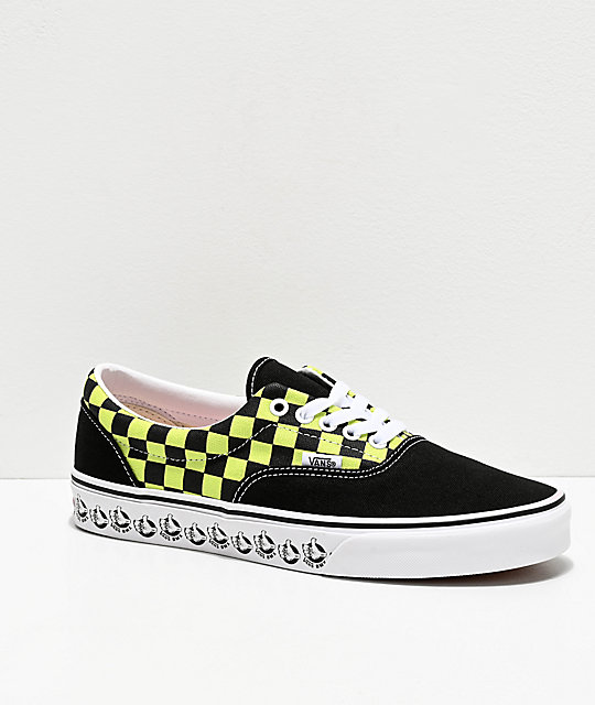 Vans Era BMX Black & Sharp Green Skate Shoes