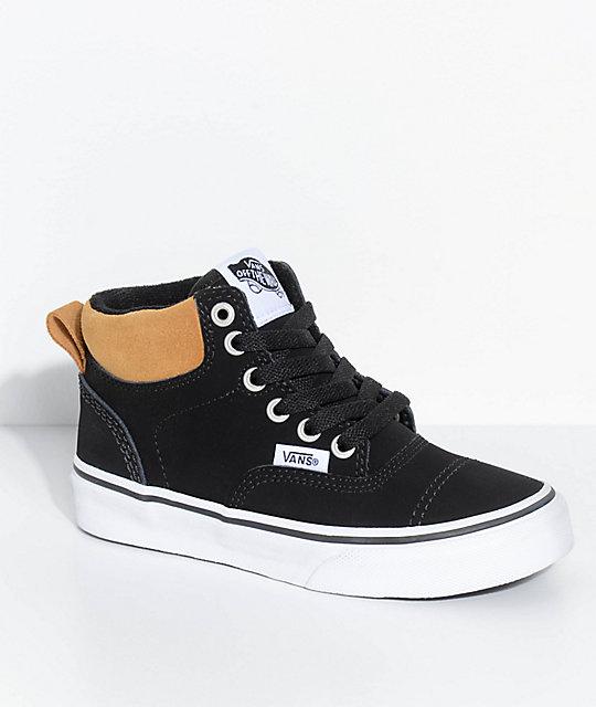 cc515af144 Vans Era Hi Black   Cathay Spice Shoes