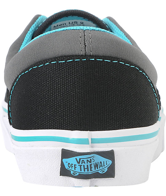 2f4800f2d3 ... Vans Era Neoprene - Black   Scuba Blue Skate Shoes ...