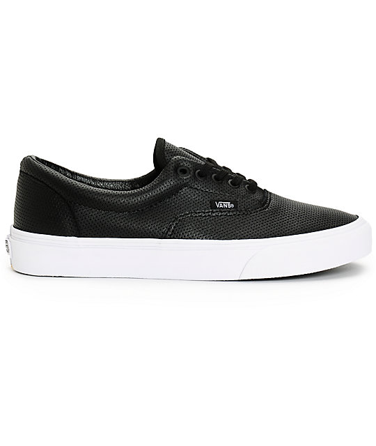 Vans Era Perforated Leather Skate Shoes