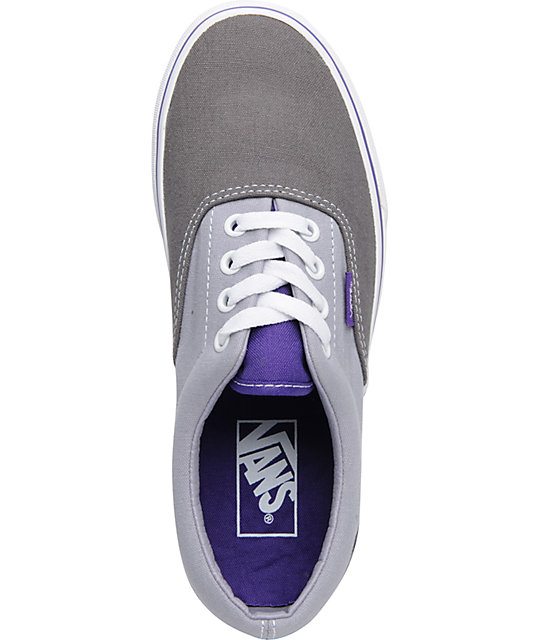 Vans Era Plum Kitten & Purple Lace Up Shoes