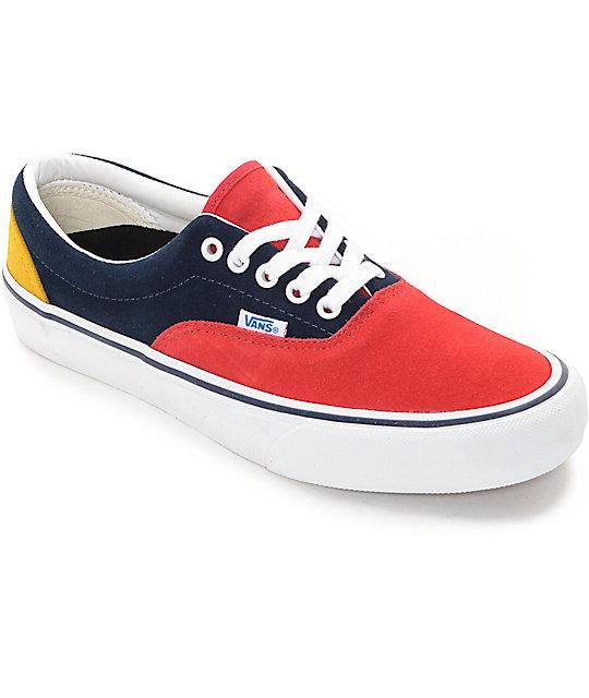 e9bc40c282 Vans Era Pro 50th  76 Multi Skate Shoes