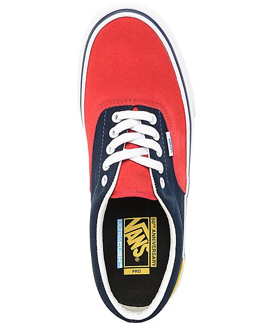 f5d5f33b7d ... Vans Era Pro 50th  76 Multi Skate Shoes ...