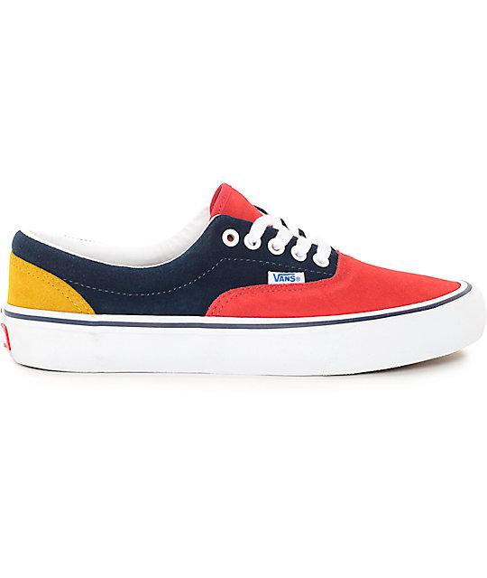 7f42299fd4 ... Vans Era Pro 50th  76 Multi Skate Shoes