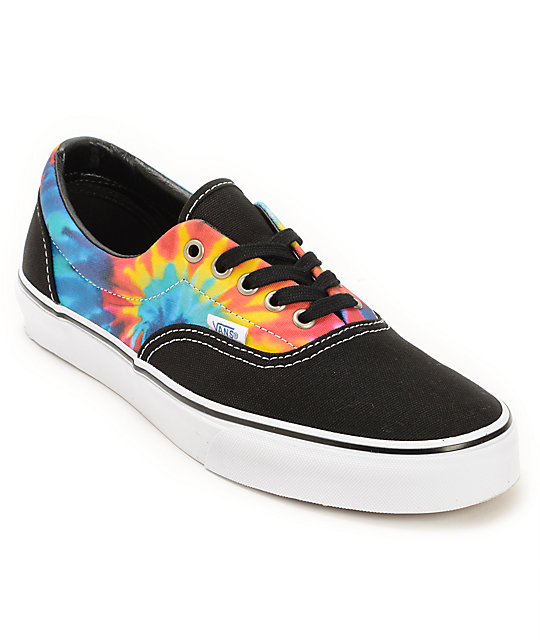 8bc3dd7d6523 Vans Era Tie Dye Skate Shoes