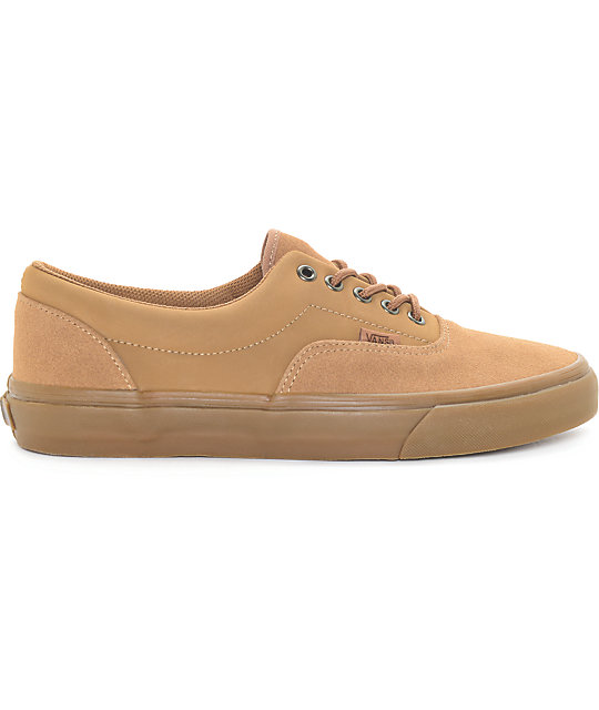 Vans Era Tobacco Suede Skate Shoes