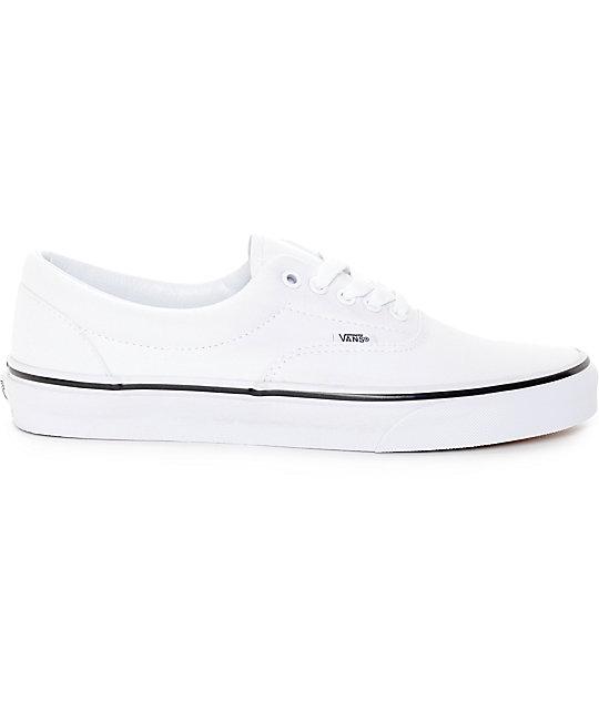 ... Vans Era True White Skate Shoes f3e1ea848