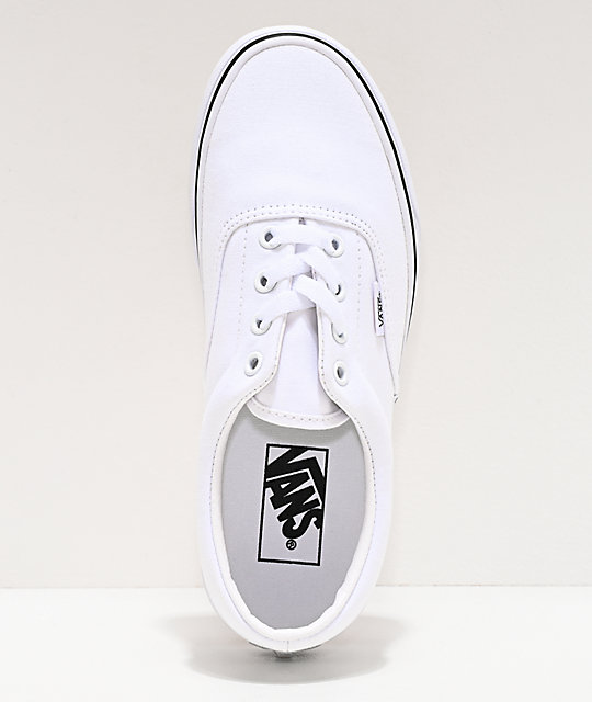Vans Era True White Skate Shoes
