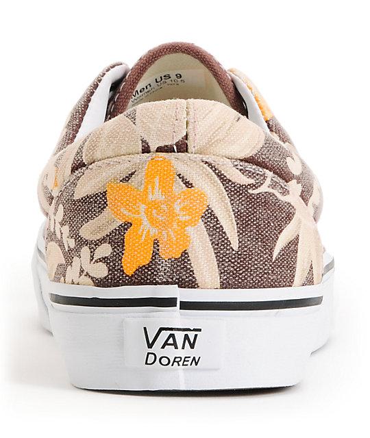 381e7834587475 ... Vans Era Van Doren Maroon   Hawaiian Skate Shoes ...