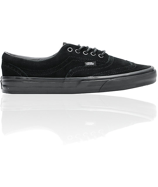 Vans Era Wingtip Black Suede Skate Shoes