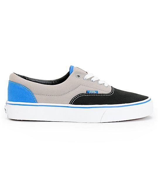 Zapatos grises Vans Era para hombre