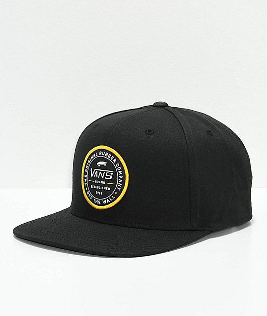 014042d4f Vans Established 66 Black Snapback Hat